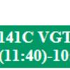 LAS #14 V2 141C VGT > GCN