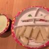 1歳完了期ごはんと夜ご飯・麻婆豆腐と餃子 ねぎサッサがみじん切りに便利だった!