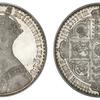 イギリス1847年ゴシッククラウン銀貨PCGS PR64DCAM