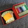 一箱で二度おいしい話 神戸Frantzの箱が糸を収納するのにぴったり♪