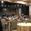 USA Hawaii〉ホテルの中のレストラン 混んでました