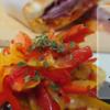 生パプリカのマリネの作り方(レシピ) スライサーでかんたん加熱しないパプリカ皮ごとマリネ