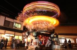 京都福知山の奇祭「額田のダシ行事」〜西日本唯一と云われる高速回転する山車〜