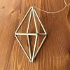 ヒンメリ ダイヤ型八面体の作り方