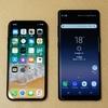 【禁断の比較】iPhone XとGalaxy Note 8の見た目勝負