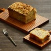 梨とクルミのクランブルケーキのレシピ