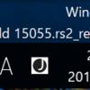 Windows10 Build 15055リリースしました