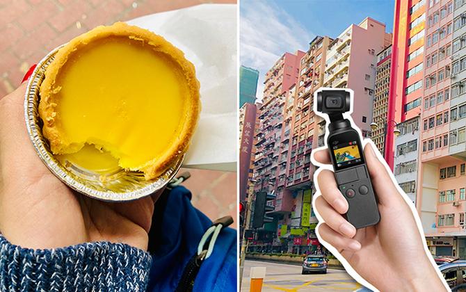 【レビュー in香港】誰でもプロ並の映像制作ができるすごいカメラDJI OSMO POCKET。これ本当に買った方がいいです・・・!!!!