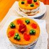『食物アレルギー配慮「寿司ケーキ」at自宅教室』