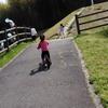 3歳の娘、ママと2人で蜻蛉池公園で遊ぶ