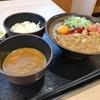 新港  ゆで太郎  朝食セット納豆