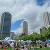 「神戸まつり」 の前日は東遊園地へ出かけます。