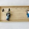 【玄関片付け】見せない鍵の収納。不要な空き箱とネジで作る/100均DIY/ビフォーアフター