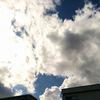 空がきれいだったので