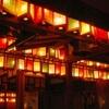 車折神社の万灯祭2017。紙灯篭で願いを成就。