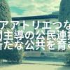 【草加】「シェアアトリエ つなぐば」で公民連携の新たな公共を育む