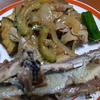 幸運な病のレシピ( 545 )夜:キャベツスープ、ナス・ゴーヤチャンプル、イワシ