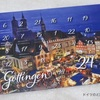 ゲッティンゲンのアドベントカレンダーが届いた