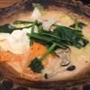 308. たっぷり野菜と和出汁の酒粕鍋定食@大戸屋