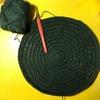 ぐるぐる編む