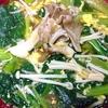 レクチンフリー小松菜と卵の味噌汁
