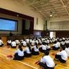 五領中学校3年生 講話