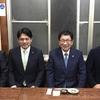 11月27日のブログ「大人としてやっていける、松井聡・羽島市長の総決起大会、古田はじめ・知事と意見交換」