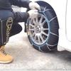 【雪道楽 Q 2】雪道走行の強い味方!タイヤチェーン取り付け方法を動画解説!