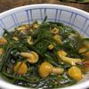 豆とキノコと海藻