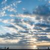 2019年の初日の出は、白里海岸にて。