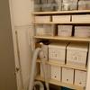 階段下のクローゼット(半畳)に可動棚をDIY   before after