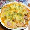 レンジで簡単!ピザポテト作りました。