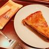 スタバでミートパイとオールバターショートブレッドを食べました。