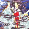 「水姫」色鉛筆&鉛筆オリジナル平安イラスト:鼻水鼻詰まり睡眠不足