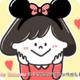 ディズニーブロガー『Disney Seasons』のユミさんアイコン作成しました!
