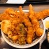 日本橋 天丼 金子半之助 ダイバーシティ東京店。