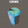 【Unity】ProBuilderでVertex Colors Editorの色が適応されないときの対処法