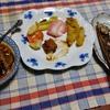 幸運な病のレシピ( 2434 )夜:イワシ3匹焼いた一匹糠に漬けた、茄子のトロトロ