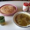 モロッコ1人旅行記 フェスでローカルな朝ごはんに出会う 新市街エリアで見つけたお店で『スープ朝定』いただきました^^