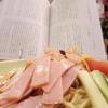 波乗り神父、冷やし中華、読書