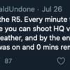 Gerald UndoneがEOS R5のオーバーヒート問題に言及 (たった1時間の写真撮影後にオーバーヒート)