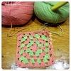 モチーフ編みの勉強。