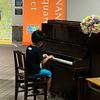 湘南台駅のストリートピアノ