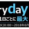 毎月開催!Every day Edyキャンペーン!