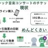 日本のクラシック音楽コンサートもEチケットを導入しよう!