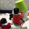 トイレトレーニング中、ウォシュレットが暴発するなど - 年子育児日記(2歳6ヶ月,1歳0ヶ月)