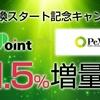 ポイントサイト i2i Point  新たにPeX交換スタート スタート記念でPeX1.5%増量