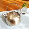 【もう、かけたり割れたりしない!】 シンプル&かわいい急須 見~つけた♪ 「急須」茶考具ティーポット レビュー