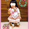 ☆ メルちゃんのおんぶだっこひもで遊ぶ クリスマスプレゼント③《1歳6ヶ月》
