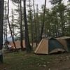 白馬グリーンスポーツの森でつり堀といかだ体験!キャンプも激安で子連れに最高!